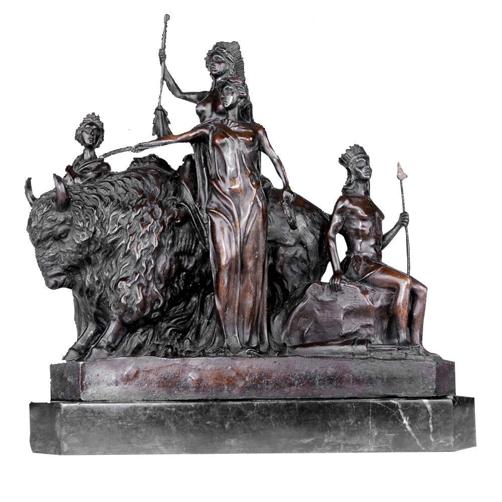 TPY-419 bronze sculpture