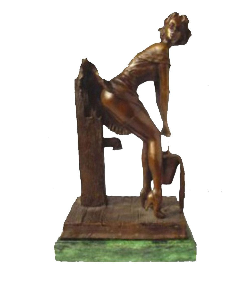 TPY-588 bronze sculpture