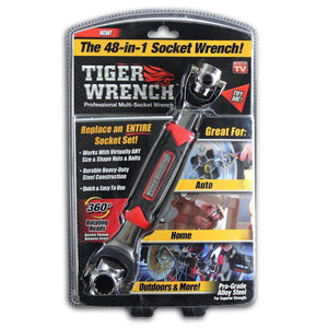 48 in 1 Tiger Wrench (360° Rotational)