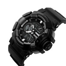 Load image into Gallery viewer, WC3 Multifunction Black Dial Analog-Digital Sports Watch