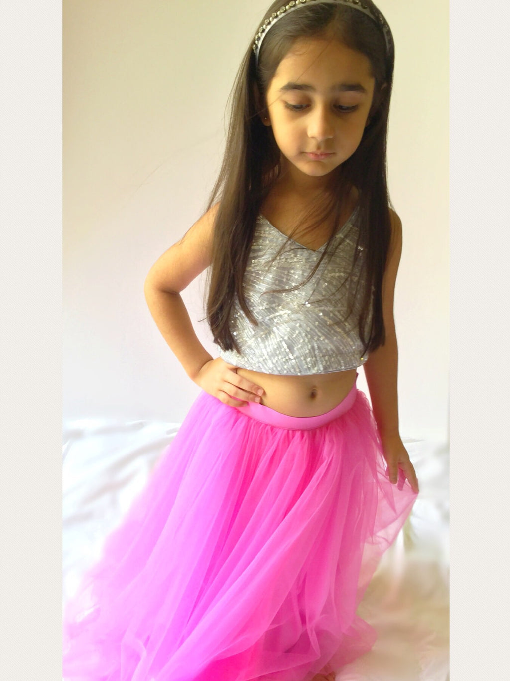 Twirly Tulle Skirt | Bubblegum
