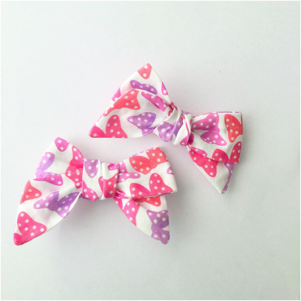 Minnie Bows | Hair Bows