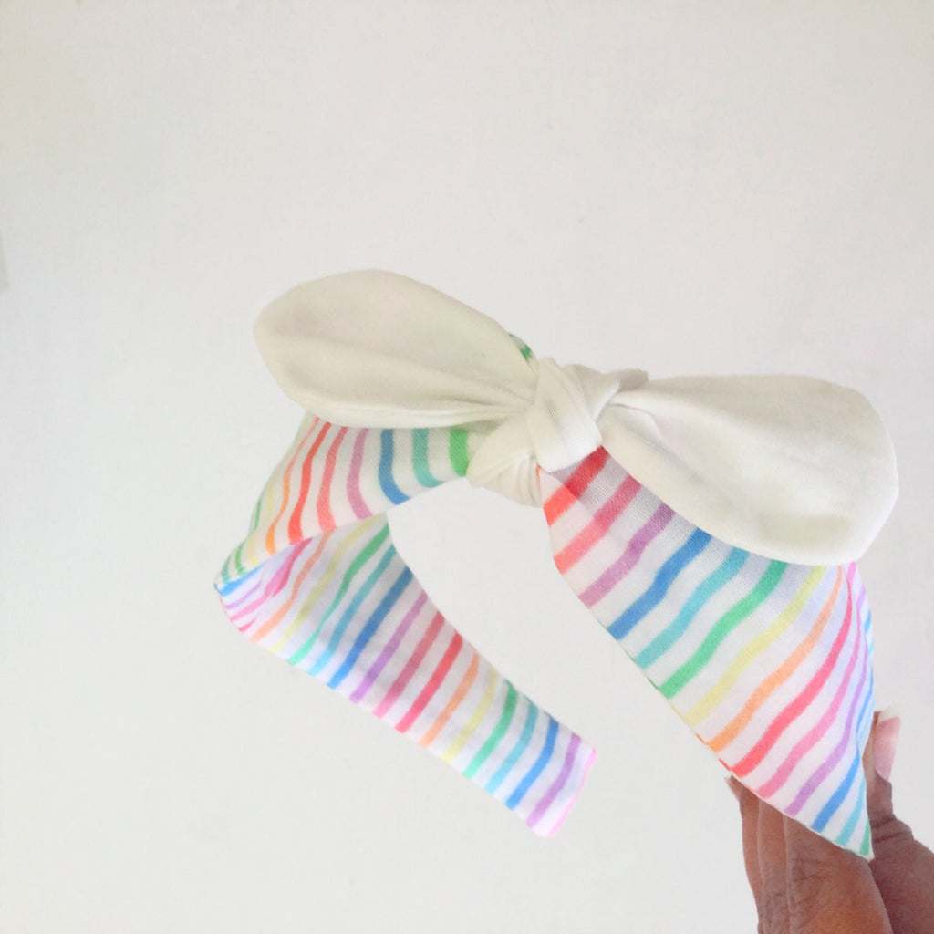 Headband | Rainbow Stripes