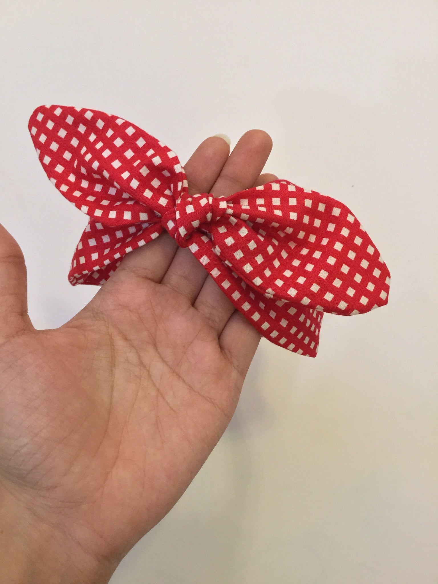 Headband | Red Gingham