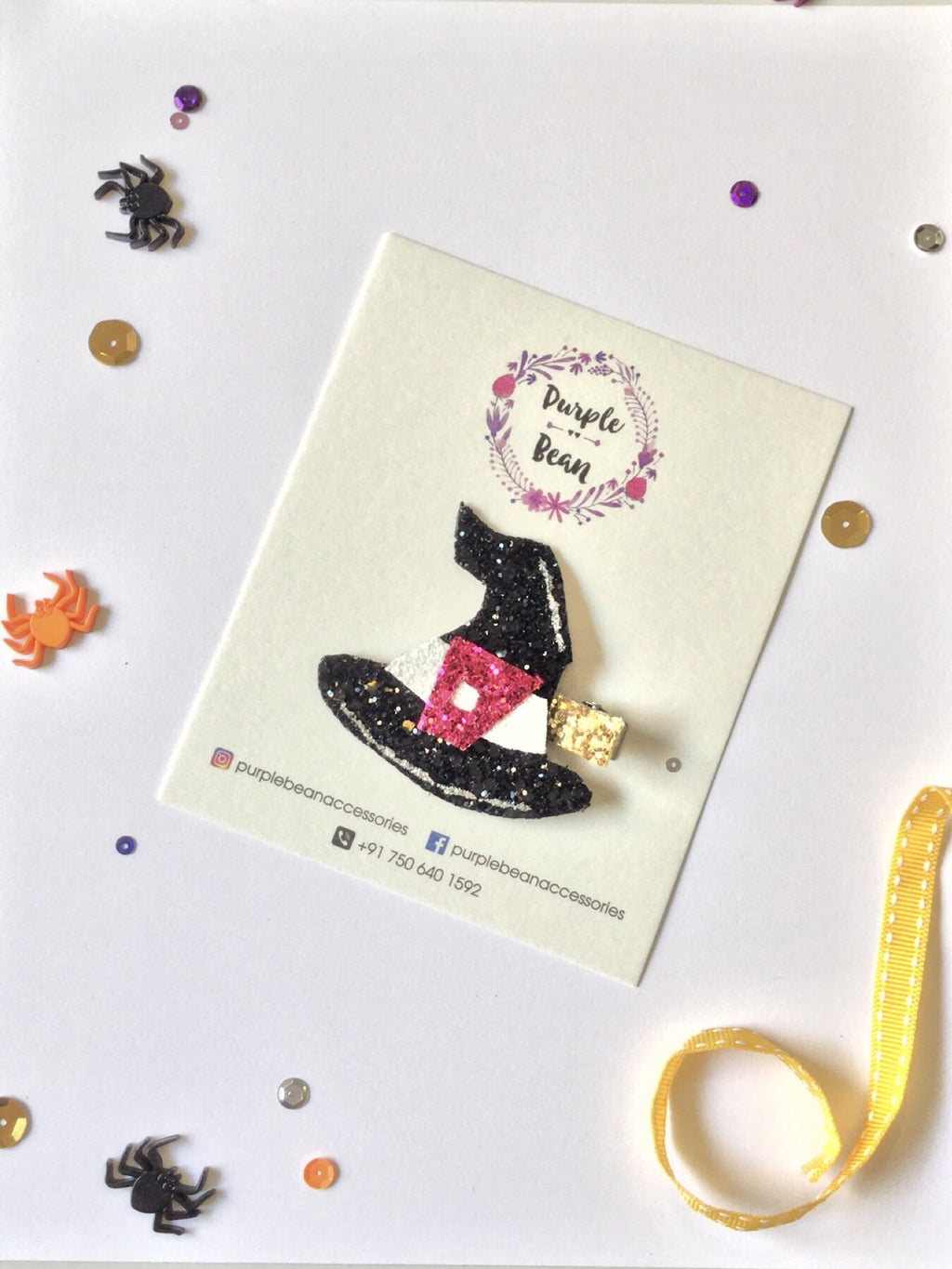 Witch Hat | Glitter Clip