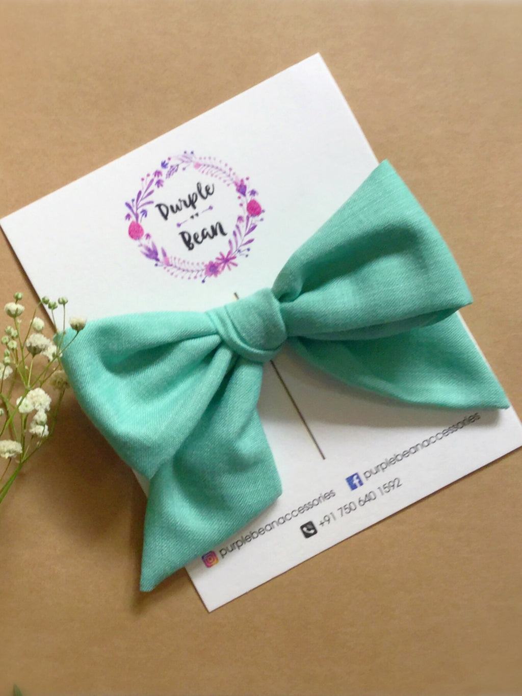 Sage | Hand-tied Bows
