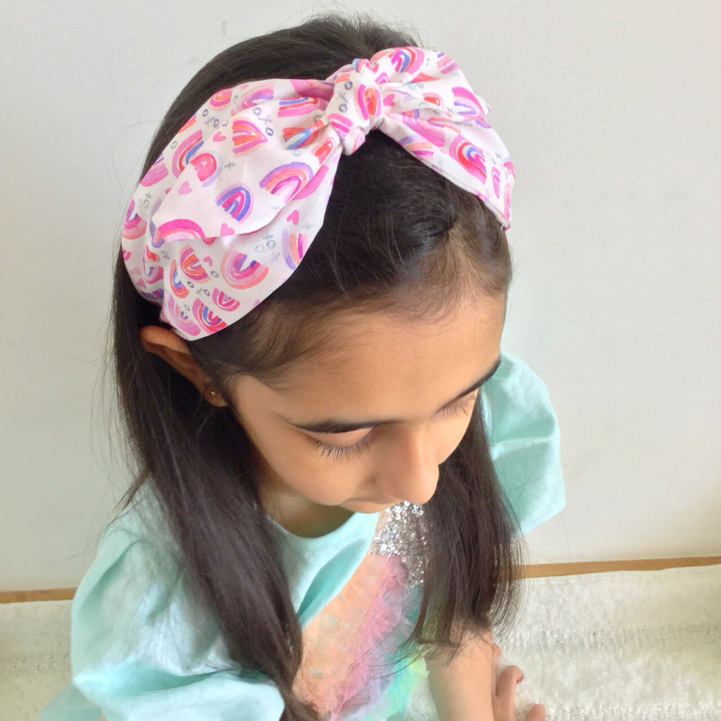 Rainbow Hearts | Headband