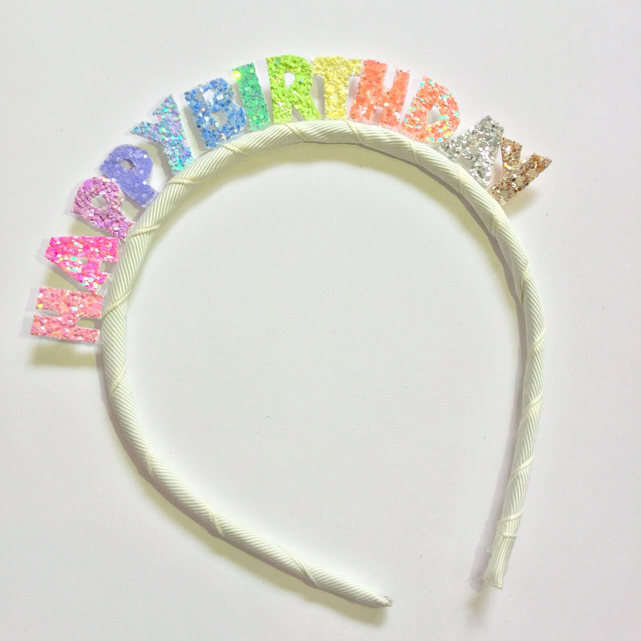 Headband : Happy Birthday