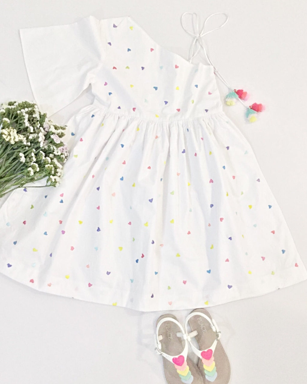 Confetti Hearts | Dress