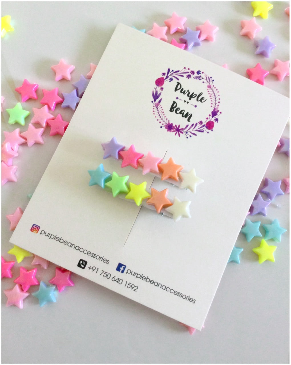Candy Stars | Hairclips