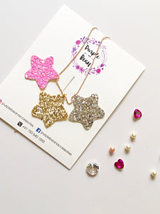 Lucky Stars | Glitter Necklace