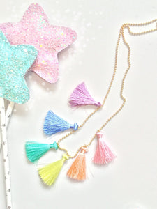 Spring Rainbow Necklace