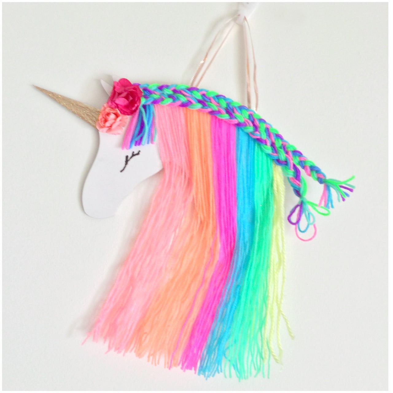 Unicorn Hairbow Holder