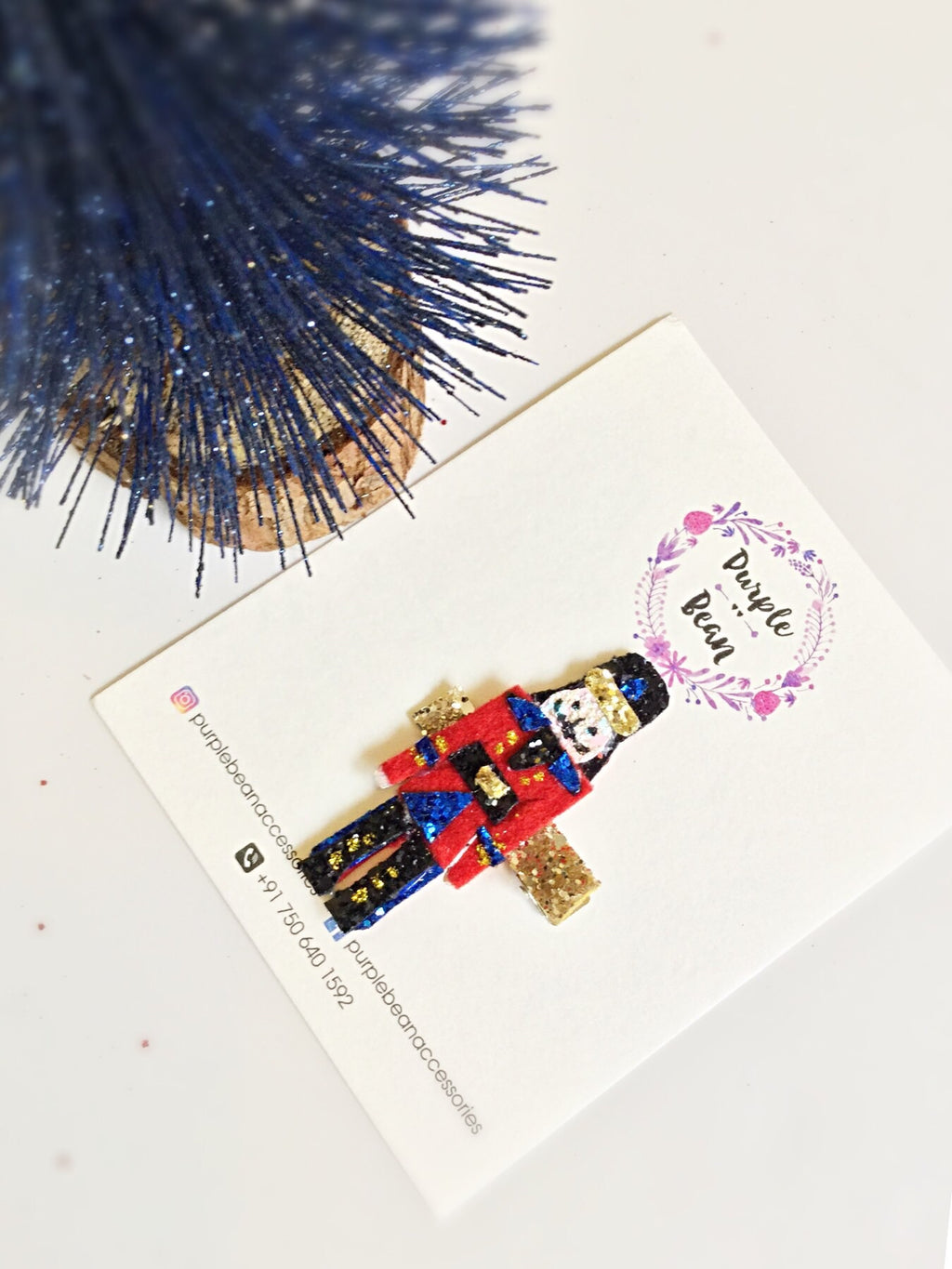 The Nutcracker | Glitter Clip