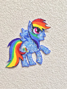 Hair Clip : Rainbow Dash