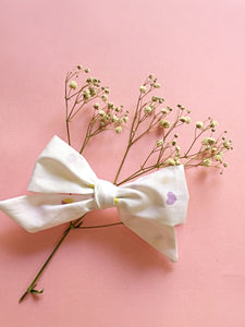 Heart Spinkles | Hand-tied Bow