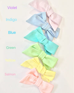 Rainbow Bows | Set of 6