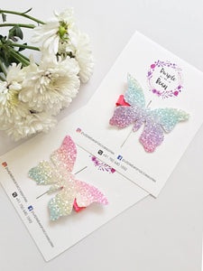 Rainbow Butterfly | Hairclip