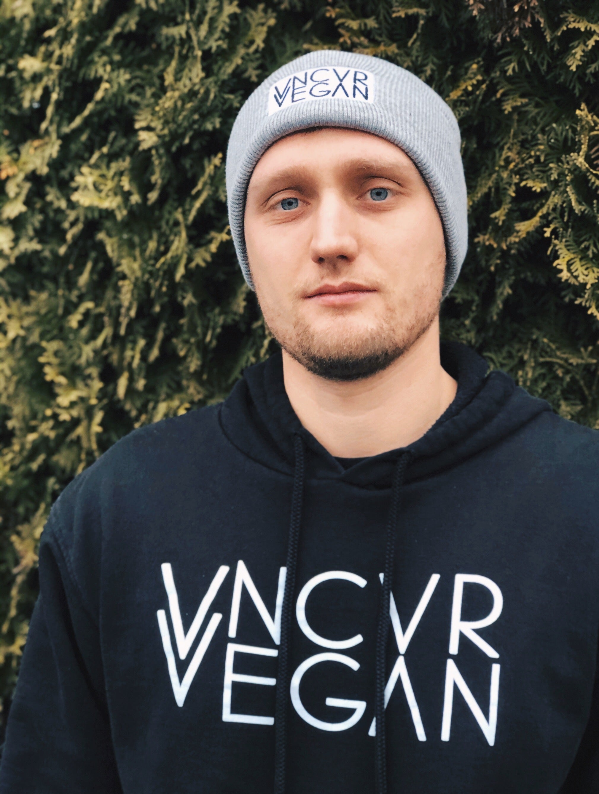 """VNCVR VEGAN"" Grey Toque"
