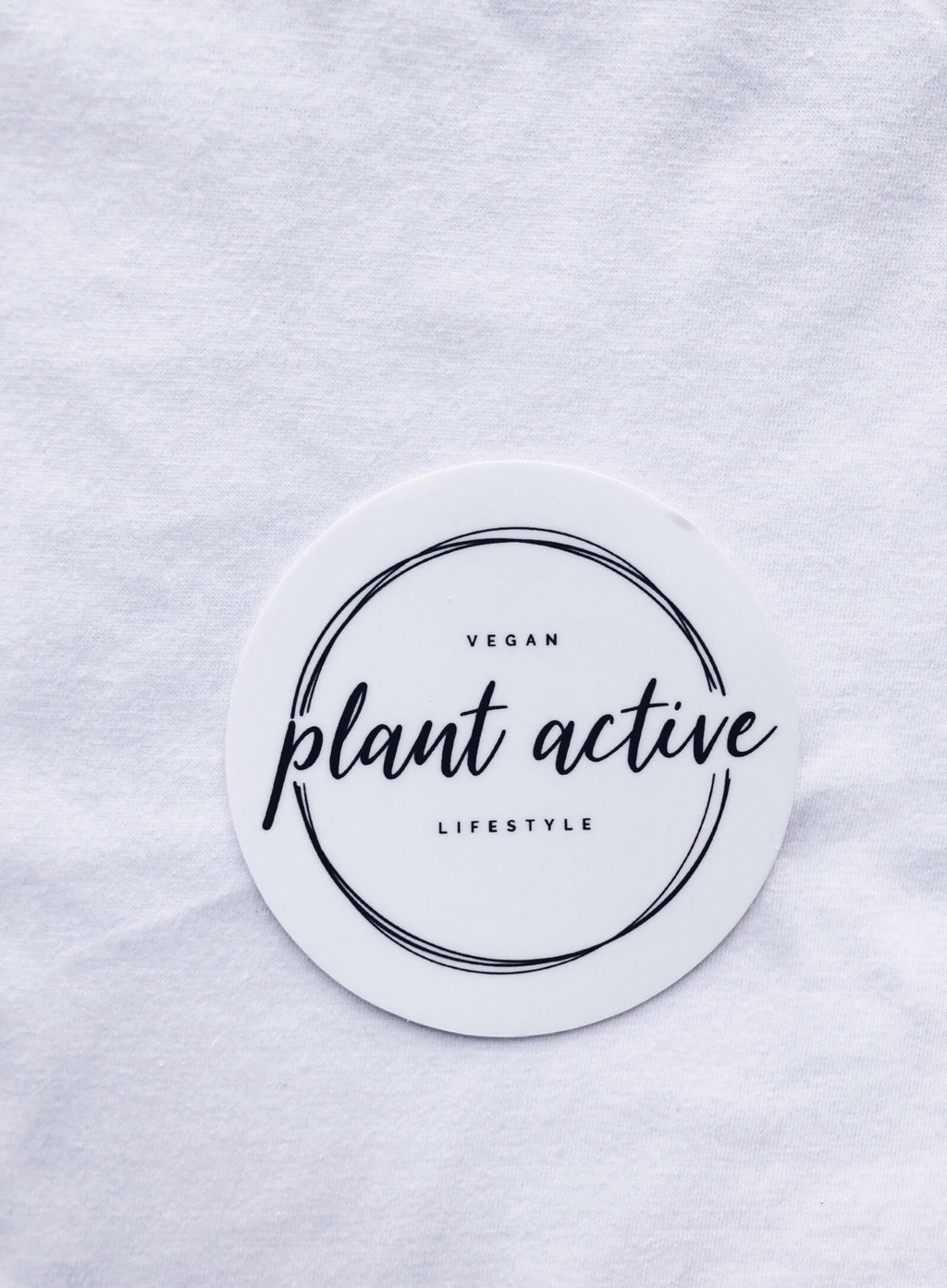 """Plant Active"" - Logo Sticker"