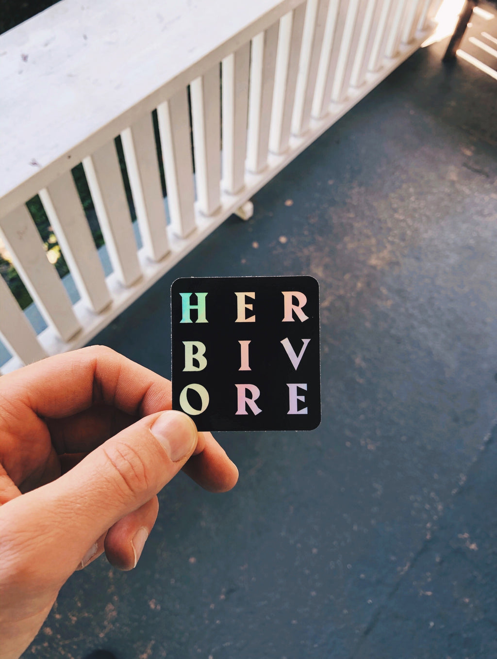 HER BIV ORE - HOLOGRAPHIC STICKER