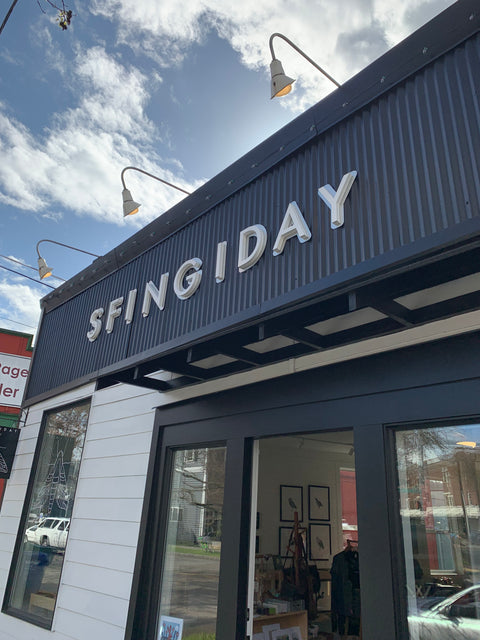 What is that store? Sfingiday's New Sign Was Installed This Week.  Check it Out!