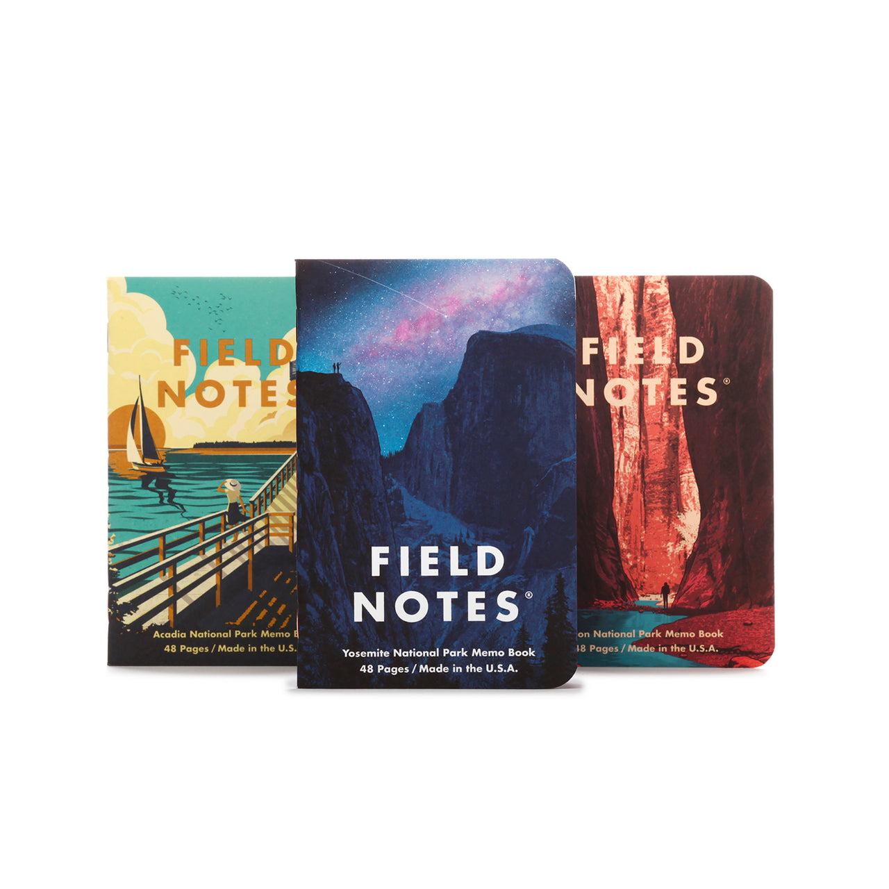 Field Notes National Parks Journals