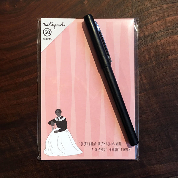 Notepads Featuring Trailblazing Women