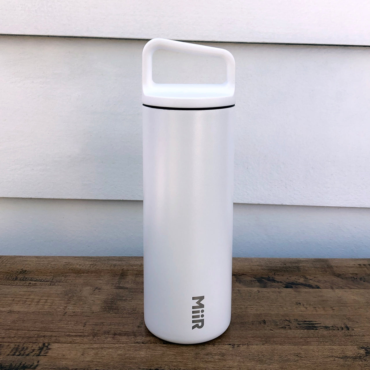 MiiR White 16oz Wide Mouth Water or Hot Drink Bottle