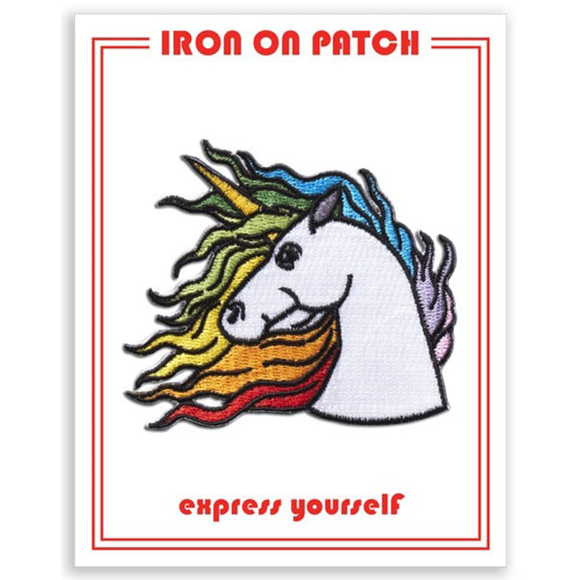 The Found Iron On Patches