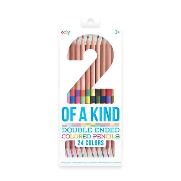 2 of a Kind Double Ended Colored Pencils