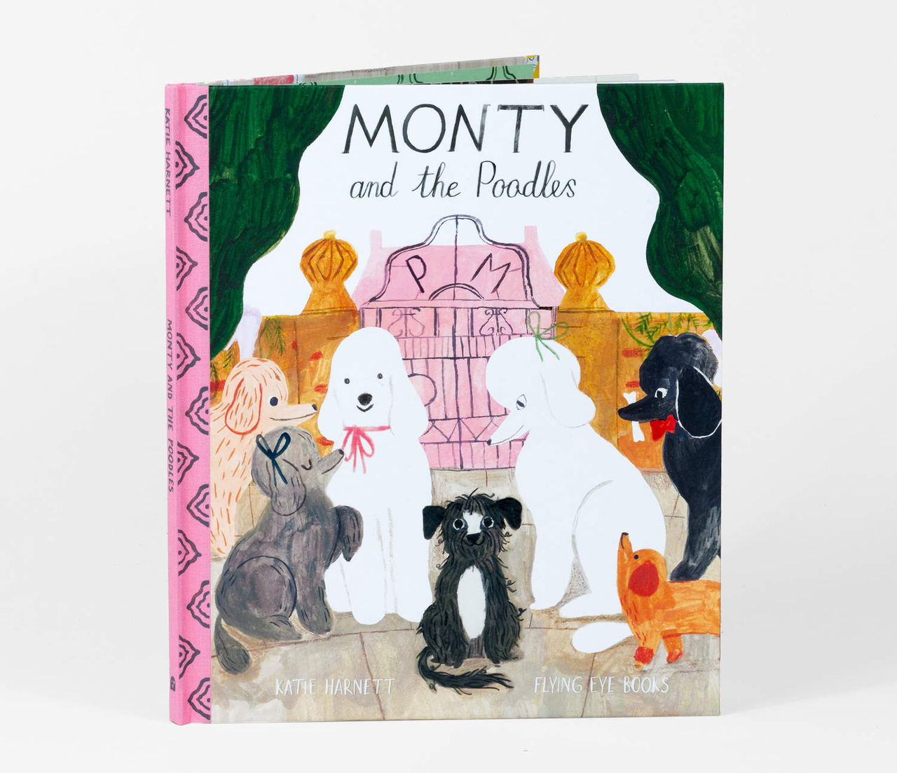Monty and the Poodles - Children's Book