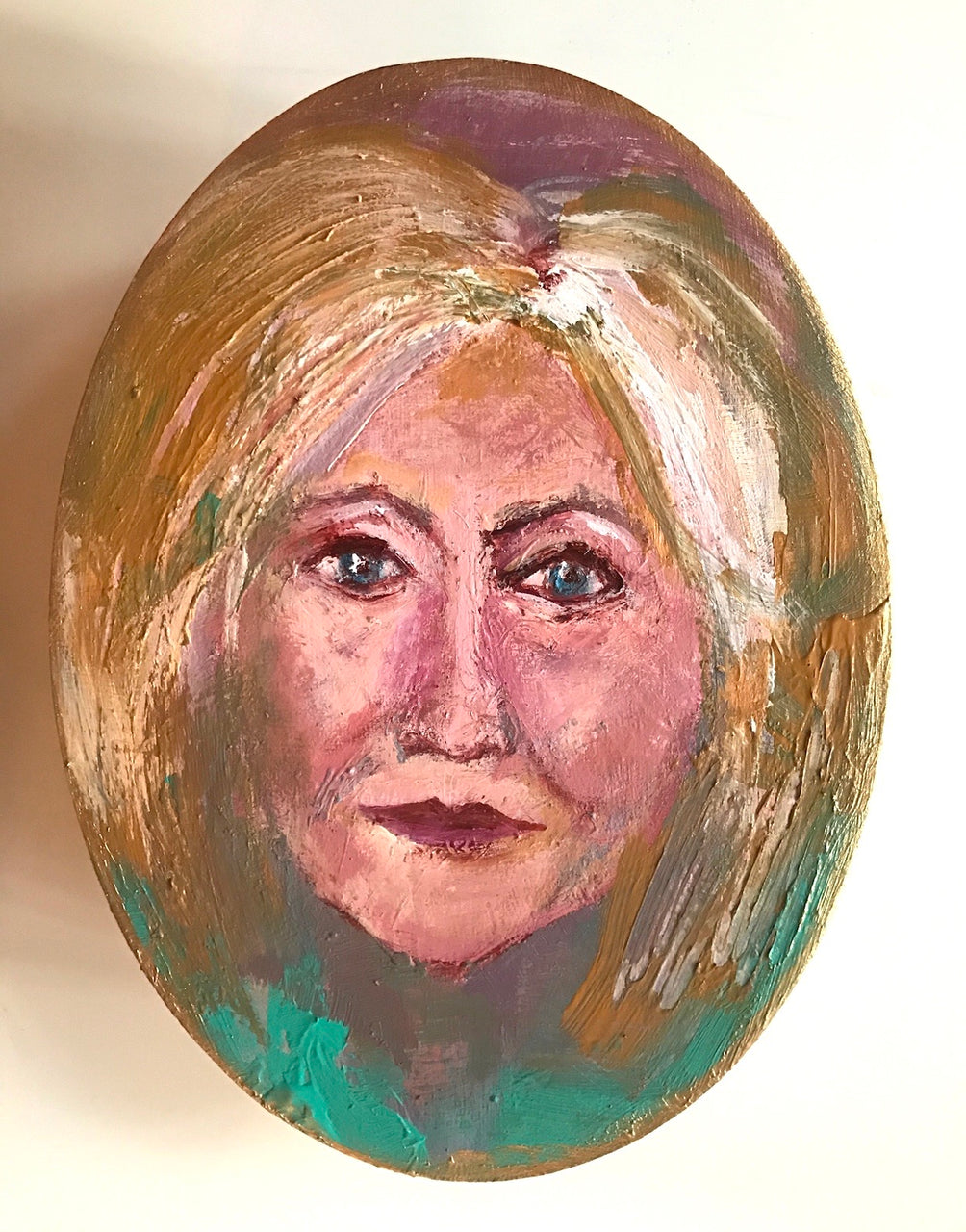 Hillary Icon Painting