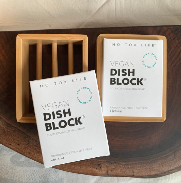 Dish Block . Vegan . 6 oz. and Large 22.9 oz.
