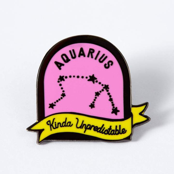 Colorful Astrology Enamel Pins