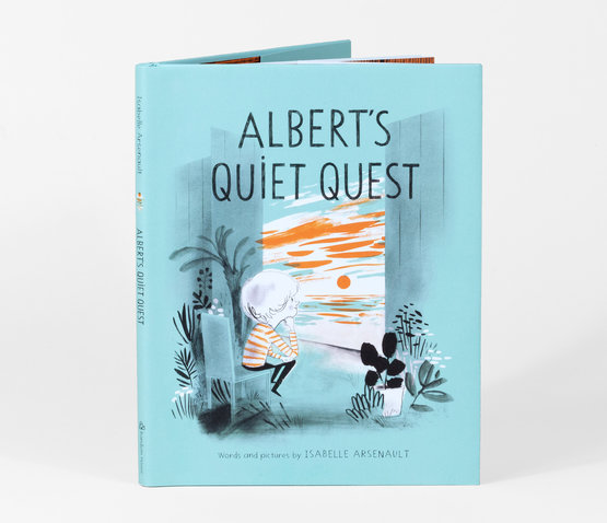 Albert's Quiet Quest - Children's Book