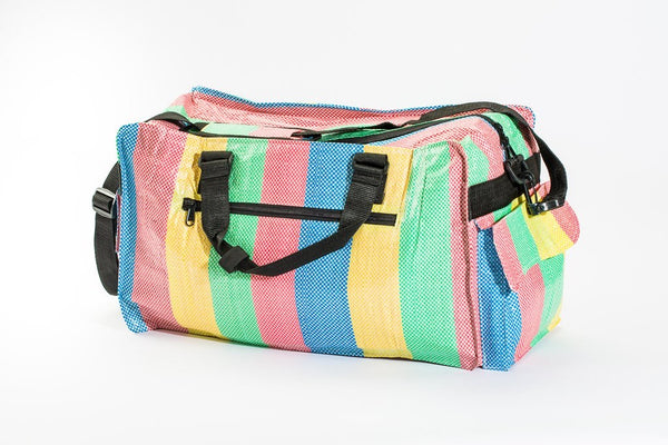 Small Duffel . Recycled Materials