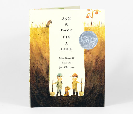 Sam & Dave Dig a Hole - Children's Book