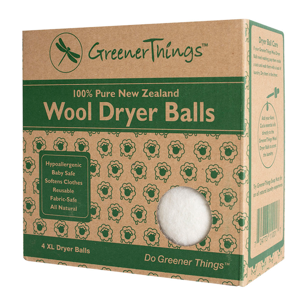 Wool Dryer Balls - Pack of 4