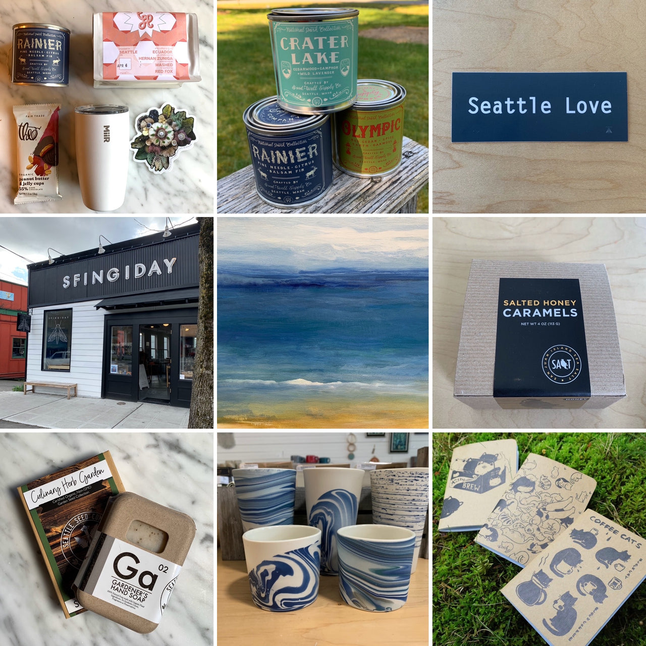 Seattle Monthly Gift Box Subscription