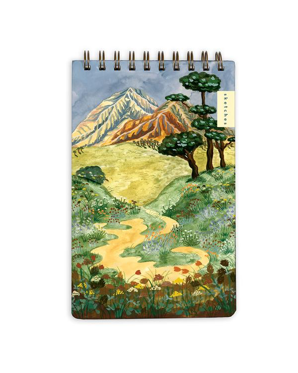 Mountain Landscape Notebook