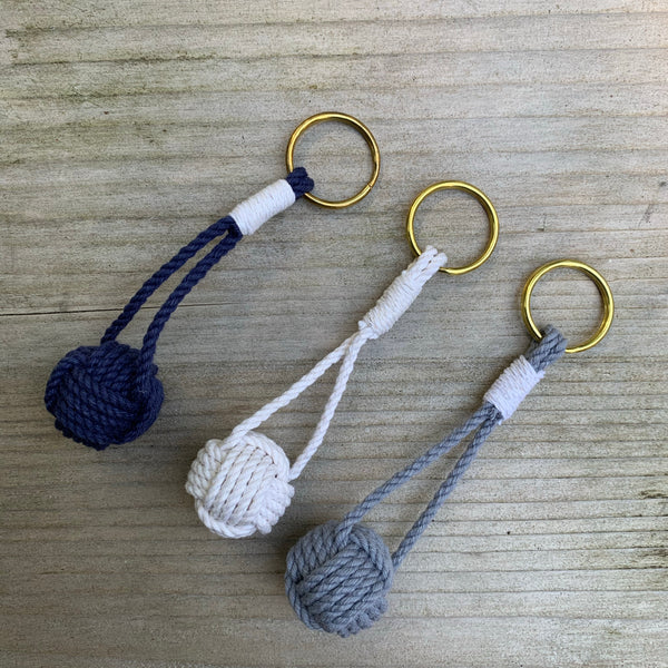Mystic Knotwork . Cotton Keychain