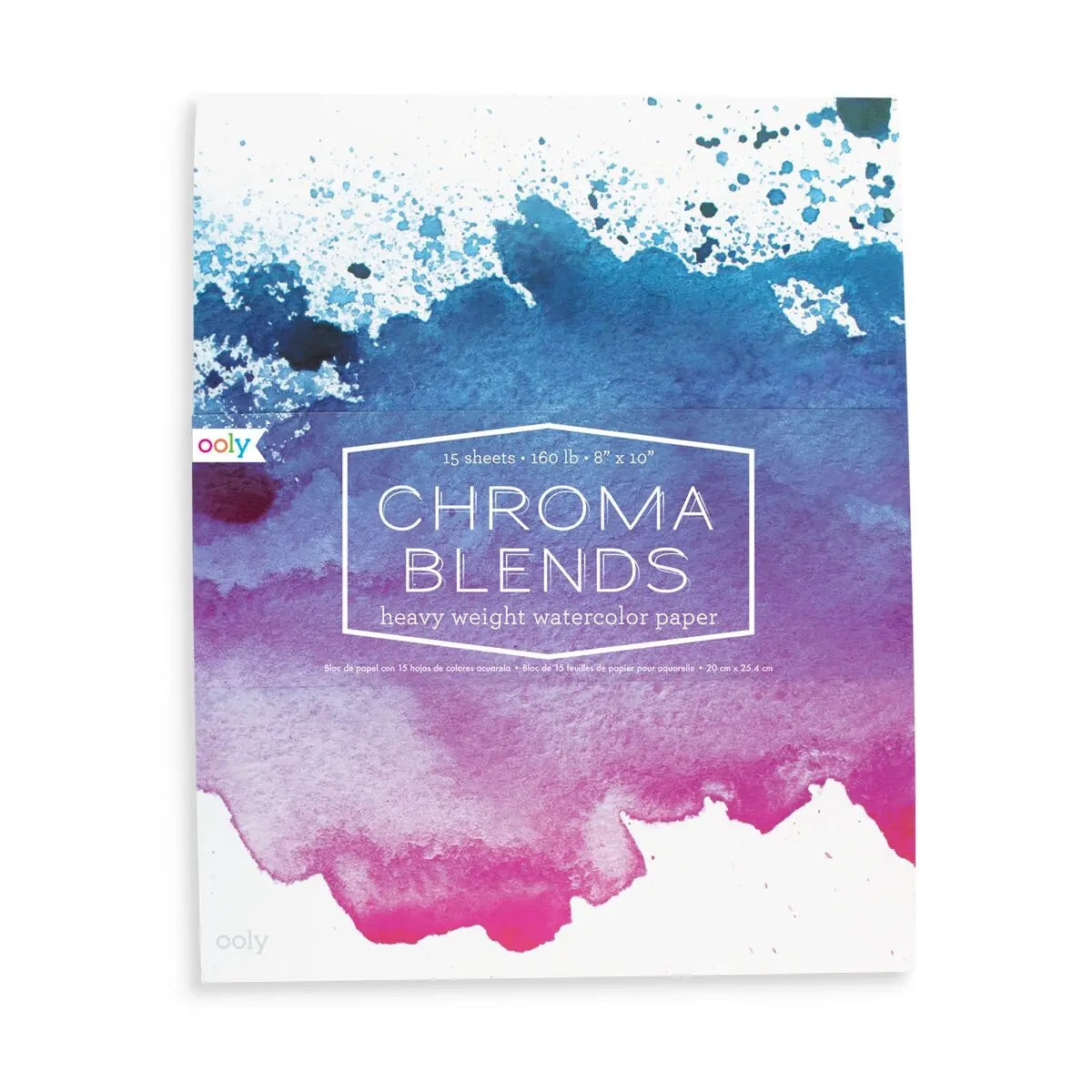 "8"" x 10"" Chroma Blends Watercolor Pad"