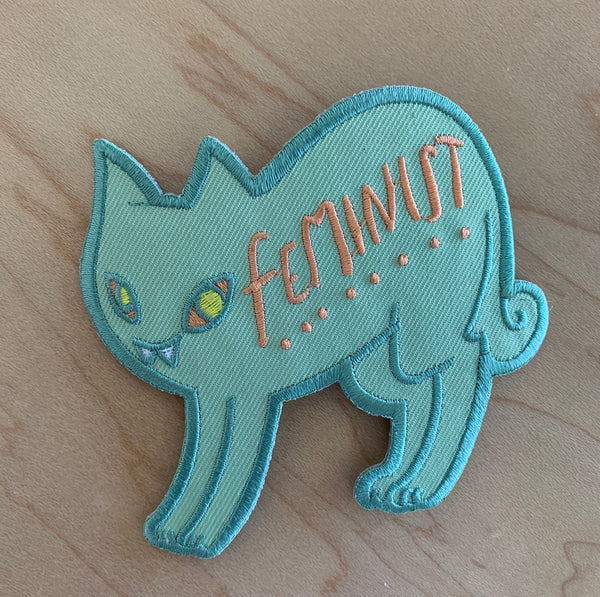 Feminist Cat Patch