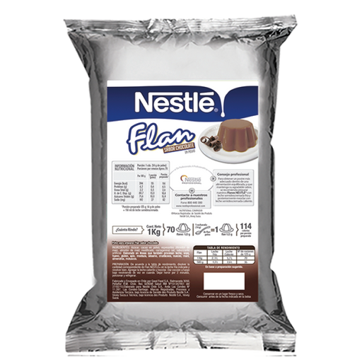 NESTLE Flan Chocolate en Polvo