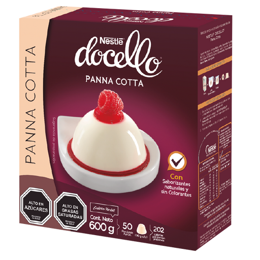 DOCELLO Panna Cotta