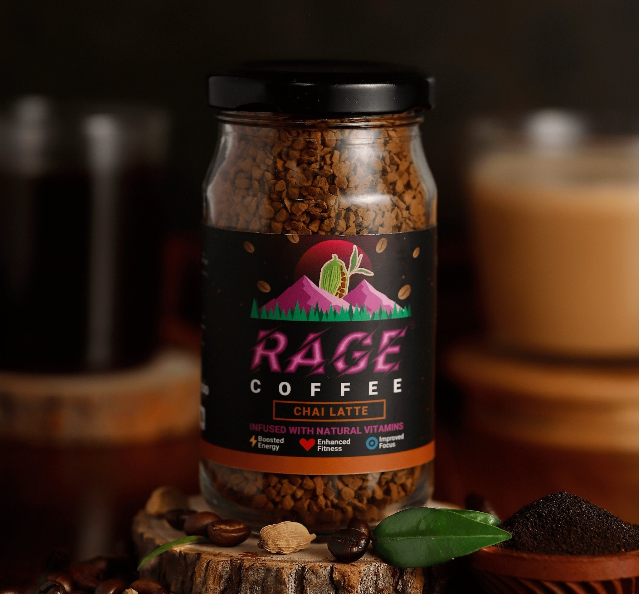 Chai Latte - Rage Coffee