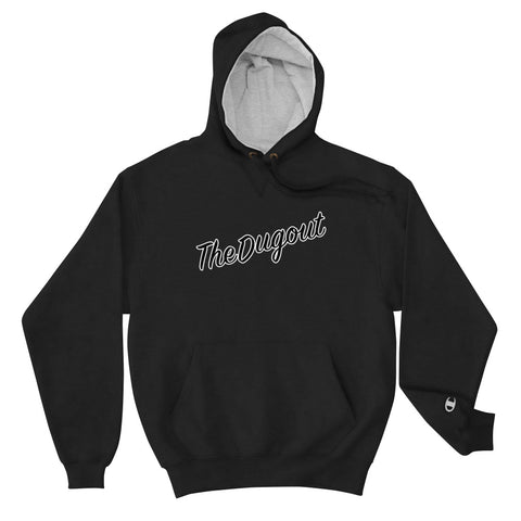 The Dugout X Champion Script Hoodie