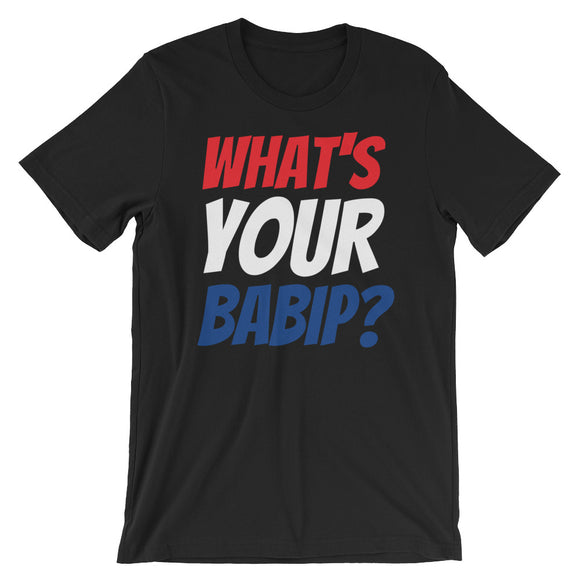 What's Your BABIP? Official Black Tee