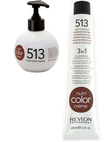Revlon Nutri Color Creme 513 Frosty Brown 270ml + 100ml
